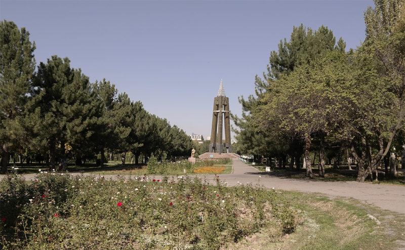 Парк Победы Бишкек 2019